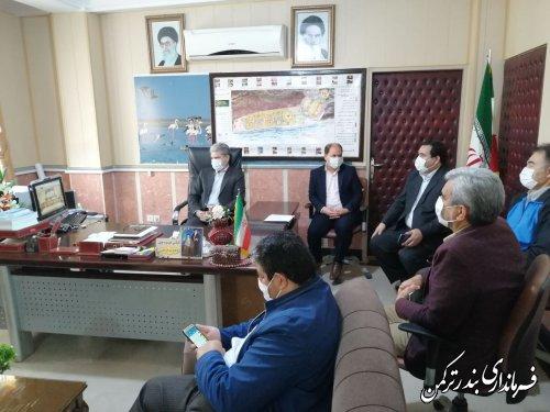 جلسه ویدئوکنفرانس استانی با محوریت گرامیداشت روز معلم برگزار شد