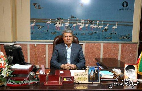 پیام فرماندار شهرستان بندرترکمن به مناسبت روز جهانی صلیب سرخ و هفته هلال احمر
