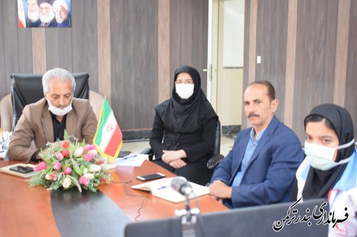 جلسه ویدئو کنفرانس استانی با موضوع هفته ملی ارتباطات و روابط عمومي برگزار شد