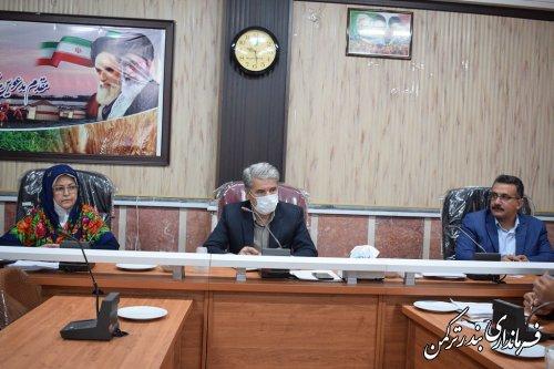 تاکنون ۴۰ هزار تن گندم تحویل مراکز خرید در شهرستان بندر ترکمن شده است