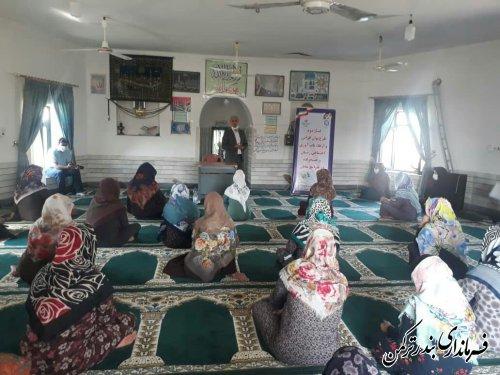 برگزاری کارگاه های مهارت آموزی بانوان در روستای گامیشلی نزار