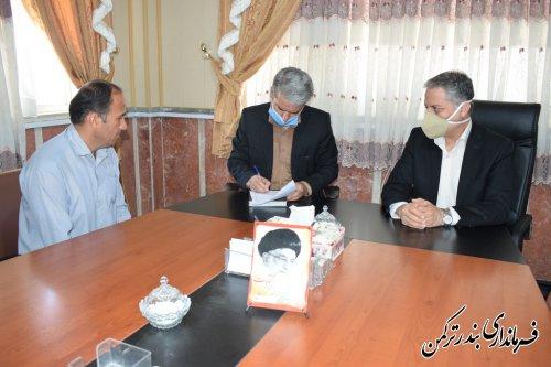 برگزاری ملاقات مردمی معاون سیاسی امنیتی و اجتماعی استاندار گلستان  با شهروندان  بندر ترکمن