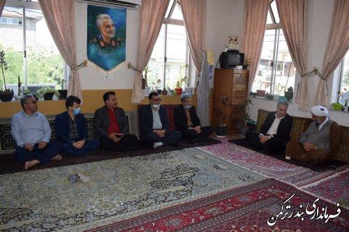 دیدار معاون سیاسی ، امنیتی و اجتماعی استاندار گلستان با ائمه جمعه شهرستان بندرترکمن
