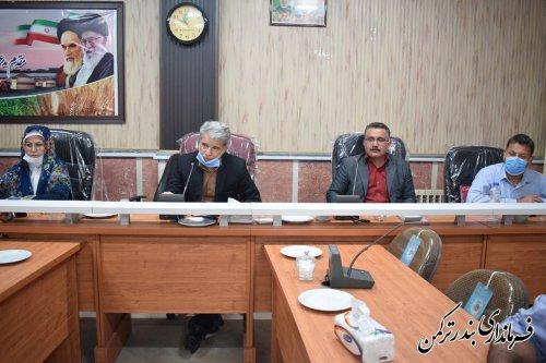 فرماندار شهرستان بندرترکمن بر ضرورت تعیین تکلیف واحدهای خبازی بدون پروانه تاکید کرد