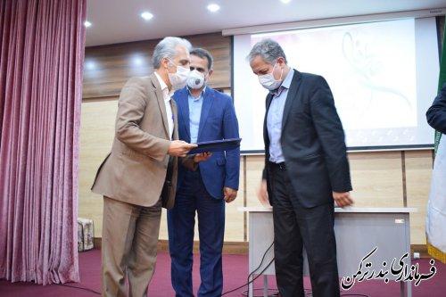 فرماندار جدید شهرستان ترکمن معارفه شد