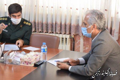 جلسه هماهنگی تدوین کتاب نقش شهرستان ترکمن در انقلاب اسلامی و دفاع مقدس برگزار شد