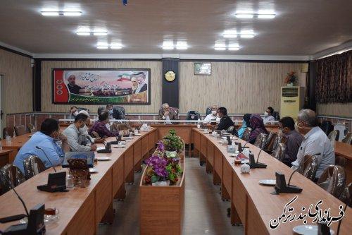 اولین جلسه مشترک اعضای هیات نظارت و اجرایی مرحله دوم انتخابات یازدهمین دوره مجلس شورای اسلامی شهرستان ترکمن برگزار شد