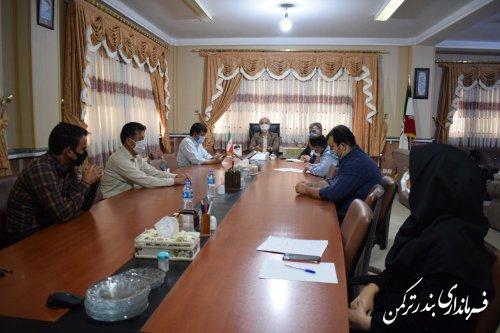 جلسه هماهنگی مرحله دوم انتخابات شهرستان ترکمن برگزار شد