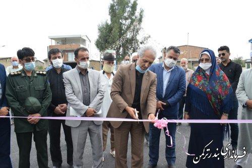 افتتاح متمرکز پروژه های بنیاد مسکن انقلاب اسلامی شهرستان ترکمن