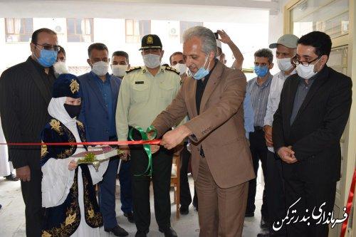 افتتاح پروژه مقاوم سازی مدرسه شهید ایمن طلب شهرستان ترکمن