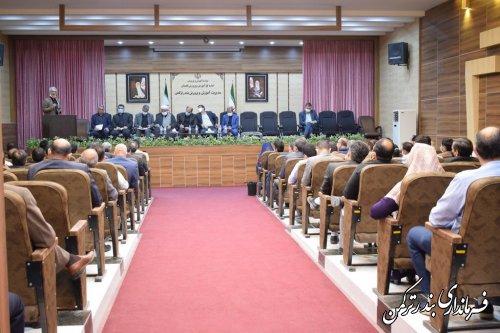 حضور مجمع نمایندگان استان در شهرستان ترکمن