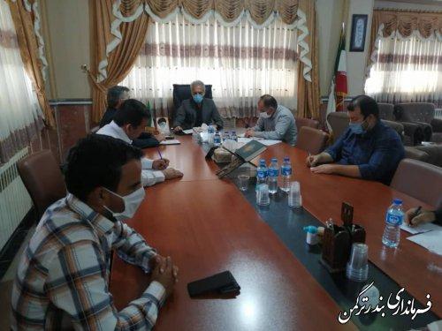 جلسه هماهنگی کمیته های انتخابات شهرستان ترکمن برگزار شد