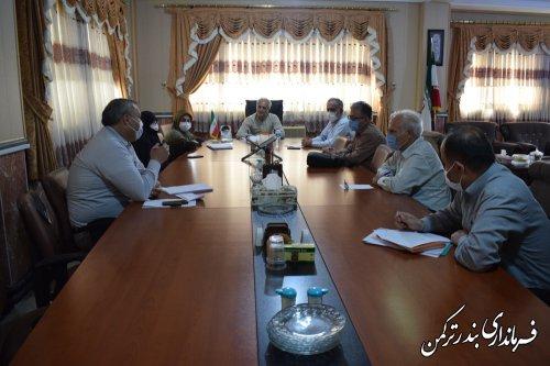 سومین جلسه هیئت اجرایی انتخابات شهرستان ترکمن برگزار شد