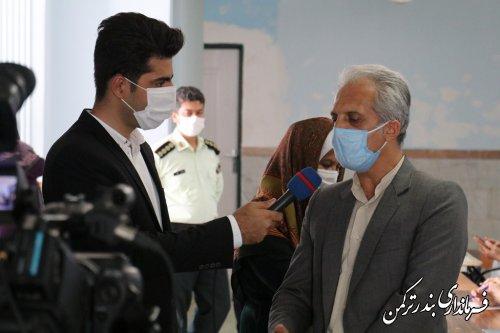 تشریح اقدامات ستاد انتخابات شهرستان ترکمن