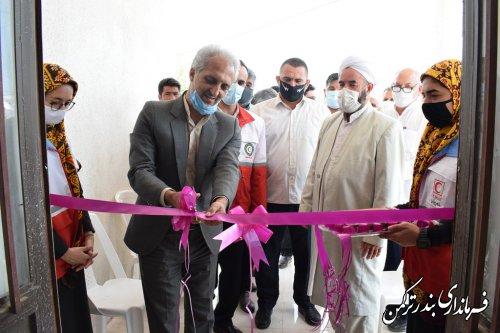 افتتاح خانه هلال روستای خواجه لر