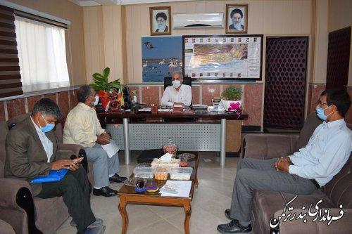 ملاقات مردمی سرپرست فرمانداری شهرستان ترکمن برگزار شد