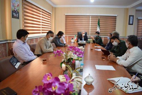 آغاز سومین مرحله رزمایش نهضت کمکهای مومنانه در شهرستان ترکمن