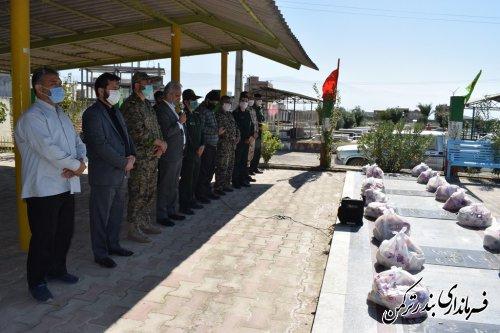 سومین مرحله رزمایش کمکهای مومنانه در شهرستان ترکمن