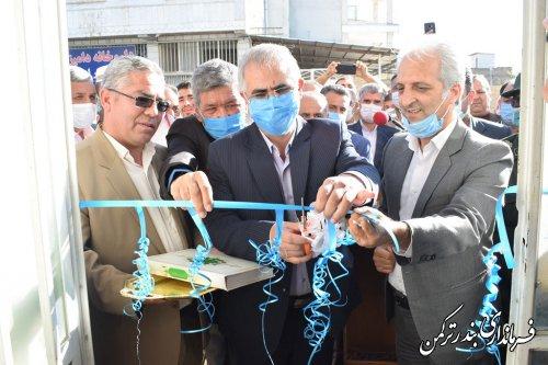 افتتاح دفتر ارتباطات مردمی نماینده مردم غرب استان درشهرستان ترکمن
