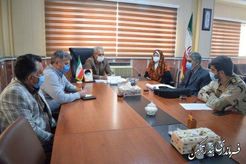 پیگیری تدوین کتاب نقش شهرستان ترکمن در پیروزی انقلاب اسلامی و هشت سال دفاع مقدس