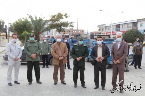 اهدای 13 سری جهیزیه به نوعروسان تحت حمایت کمیته امداد امام خمینی (ره) شهرستان ترکمن