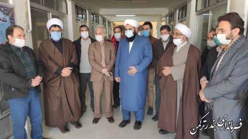افتتاح دفتر نمایندگی اوقاف و امور خیریه در شهرستان ترکمن