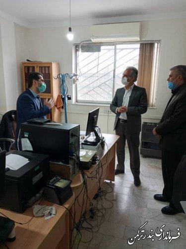 دیدار فرماندار ترکمن با رییس اداره ثبت احوال شهرستان