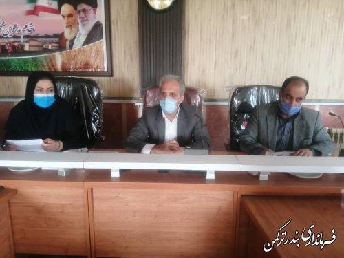 جلسه توجیهی بازرسین عفاف و حجاب شهرستان ترکمن برگزار شد