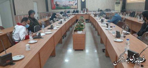 نشست هماهنگی فعالسازی سفیران سلامت در شهرستان ترکمن