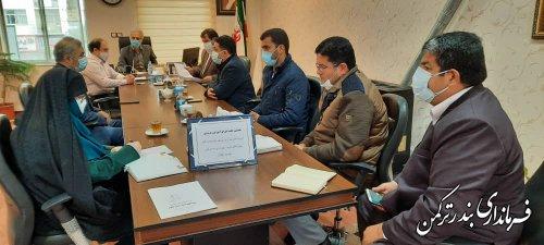 هشتمین جلسه شورای آموزش و پرورش شهرستان ترکمن برگزار شد