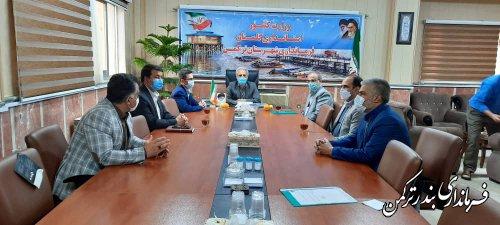 رئیس اداره ثبت احوال شهرستان ترکمن معارفه شد