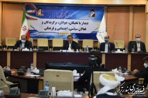 فشار حداکثری علیه ملت ایران شکست خورده است/ گلستان از استعدادها ممتاز دارد و نیروهای کارآمد برخوردار است