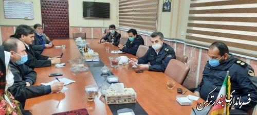 ششمین جلسه شورای هماهنگی ترافیک شهرستان ترکمن برگزار شد