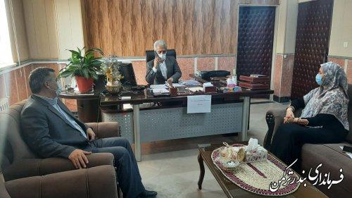 هشتمین جلسه انجمن کتابخانه های عمومی شهرستان ترکمن برگزار شد