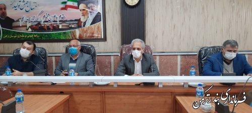 جلسه کمیته فناوری اطلاعات انتخابات شهرستان ترکمن برگزار شد