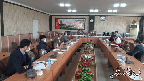 هفتمین جلسه شورای هماهنگی ترافیک شهرستان ترکمن برگزار شد