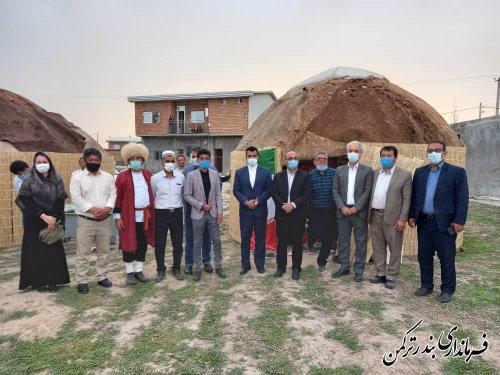 جشنواره نوروزی فرهنگ و اقتصاد روستاهای بخش مرکزی شهرستان ترکمن برگزار شد