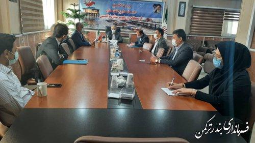 جلسه هماهنگی اعضای دبیرخانه هیات اجرایی انتخابات شهرستان ترکمن برگزار شد