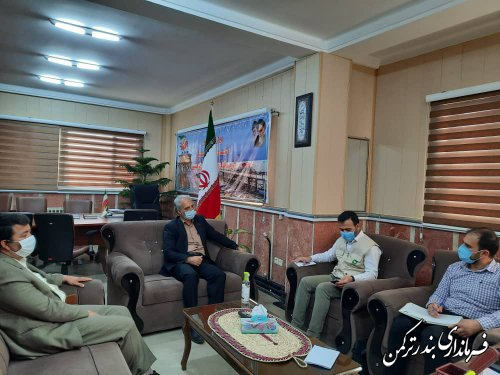 جلسه کارگروه توسعه اشتغال شهرستان ترکمن برگزار شد