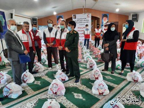 رزمایش کمک های مومنانه در شهرستان ترکمن
