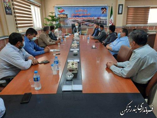 جلسه مشترک اعضای هیات اجرایی و نظارت انتخابات شهرستان ترکمن برگزار شد