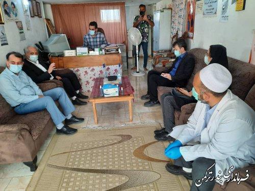 بازدید فرماندار ترکمن از مرکز ترک اعتیاد ساحل نشاط شهرستان