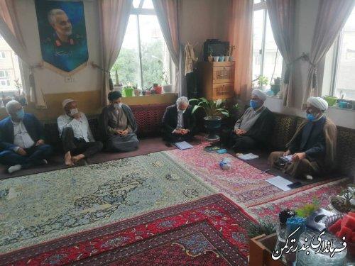 جلسه ستاد ساماندهی شئون فرهنگی در مناسبت های مذهبی شهرستان ترکمن برگزار شد
