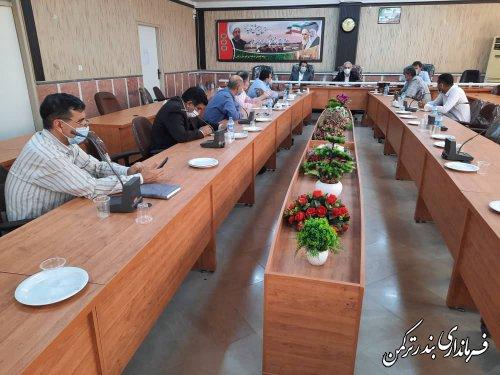 جلسه ستاد تنظیم بازار شهرستان ترکمن برگزار شد