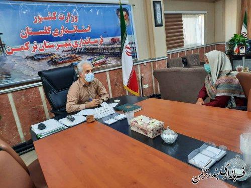 دیدار چهره به چهره فرماندار شهرستان ترکمن با شهروندان
