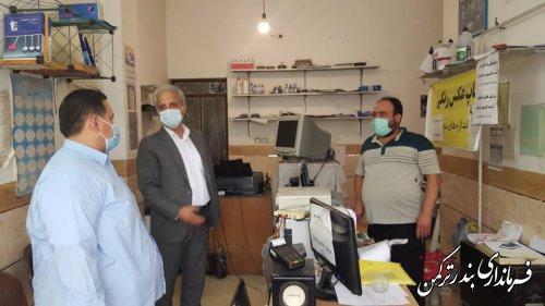 تداوم نظارت های مستمر بر واحدهای صنفی شهرستان ترکمن