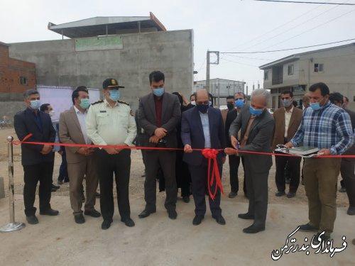 افتتاح پل بتنی عدالت بر روی کانال اورکت حاجی شهر بندرترکمن