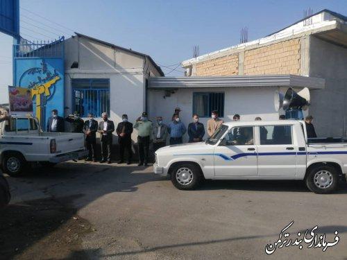 برگزاری رژه خودرویی به مناسبت گرامیداشت هفته دفاع مقدس در شهرستان ترکمن
