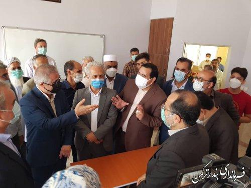 افتتاح مدرسه  خیری مشارکتی  محمد حاجی شیر محمدلی  در پنج پیکر