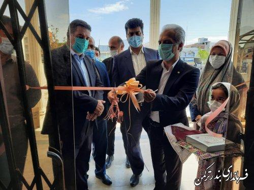 افتتاح نمایشگاه صنایع دستی شهرستان ترکمن